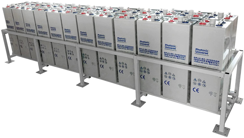 Banco baterías selladas OPzV