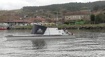 MÉNTOR - barco eléctrico - electric boat