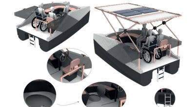 Alumnos de la EUDI diseñan embarcaciones inspiradas en la Xouva 4.90